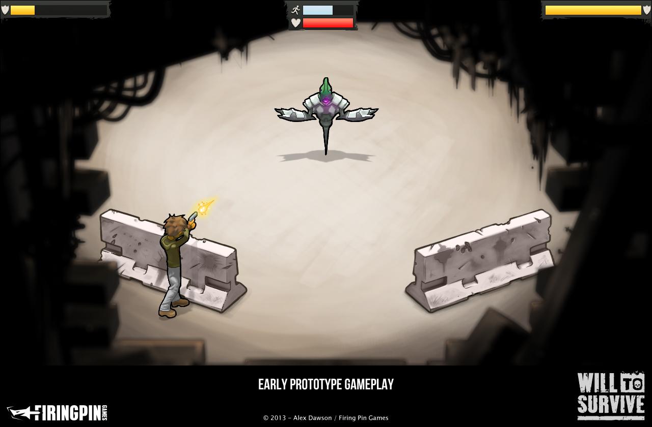 Prototype Fight Screen